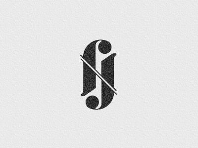 Franck Juillot ambigram logotype franck juillot rebrand designer logotype logo clean minimal ambigram