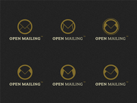 OpenMailing logo concepts