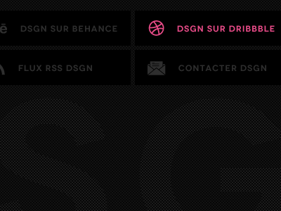 www.dsgn.fr | footer dsgn web website design footer minimal clean