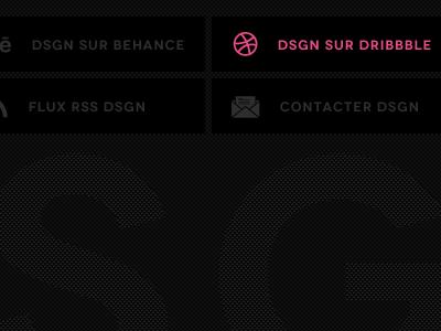 www.dsgn.fr | footer dsgn web website design footer minimal clean