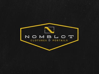 Nomblot logo logo nomblot construction fences gates concrete work solid quality