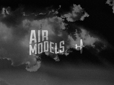 Air Models Logo #Wip logo plane modeling air models
