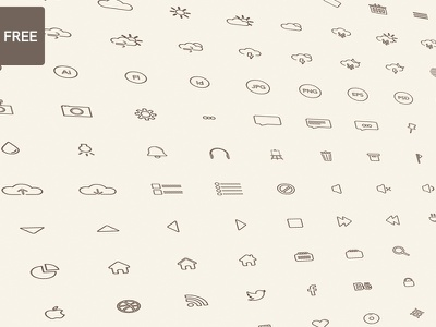 Icon Set (144) icon free icons social weather vector collection icon set set line