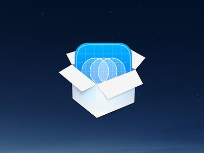 Around Package Icons brand party box icons app around app desktop app application installer dsgn ui icon design big sur macos app icon