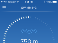 Activity swimming