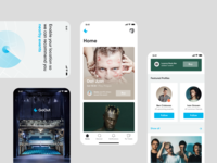 GoOut– iOS App Exploration service concerts dsgn ux ui mobile app minimal ios culture colors goout redesign app