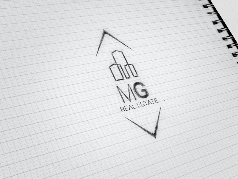 MG Real Estate branding logo design