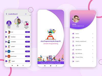 DreamPrograming App (Learning App) vector icon ux logo illustration design app