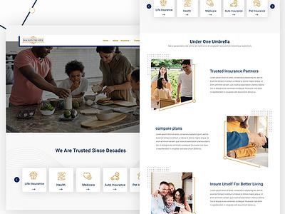 App for Insurance ui webdesign