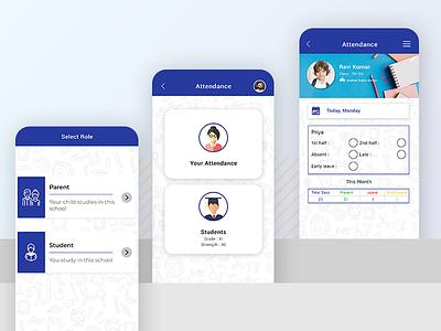 Edusams School Management App ui design app
