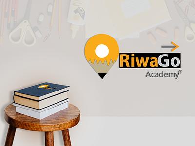 RiwaGo Logo icon typography vector design logo