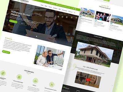 killarney home Finance ui webdesign icon design ux