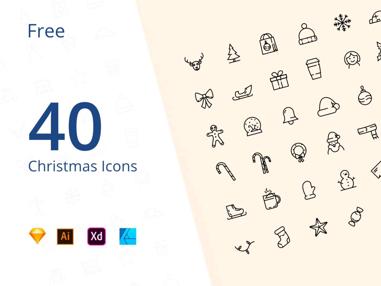 Download 40 Free Christmas icons
