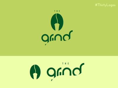 Thirty Logos - The Grind - Coffee Shop Logo
