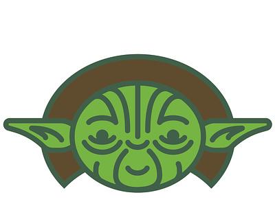 Yoda starwars star wars yoda green alien illustration headshot portrait baby yoda the mandalorian illustrator