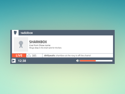 Rabiobox Live Player