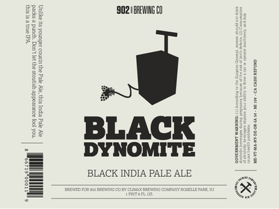 902 Brewing Co Bottle Label