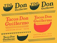 Tacos Don Guillermo Branding
