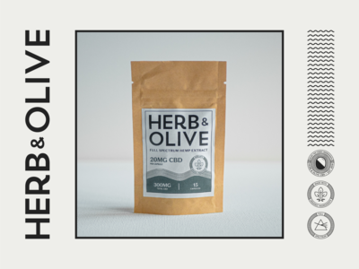 Herb&Olive Pouch Design