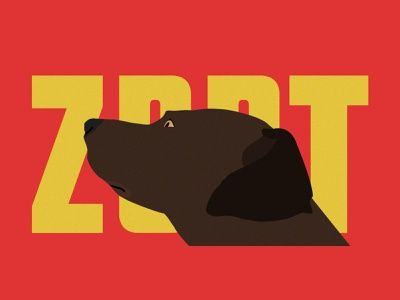 Zion sketch illustration dog