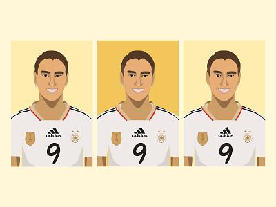 Birgit Prinz Sketches soccer sports womens soccer illustrations illustrator illustration