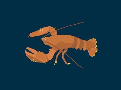 Lobster Time Lobster sea lobster illustrator illustrations illustration