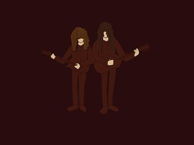 Kurt and Courtney Sketch sea lice courtney barnett kurt vile bands show music