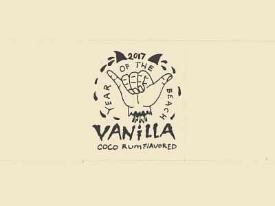 Vanilla Label Sketch sketch illustration logo