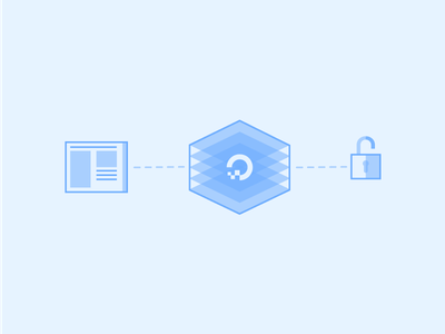 Web Server Security web connection blue website security digitalocean
