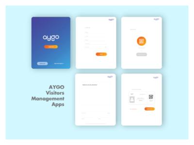 UI Design_AYGO visitors management