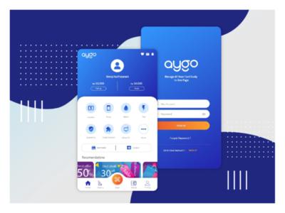 UI design_Aygo e-wallet app