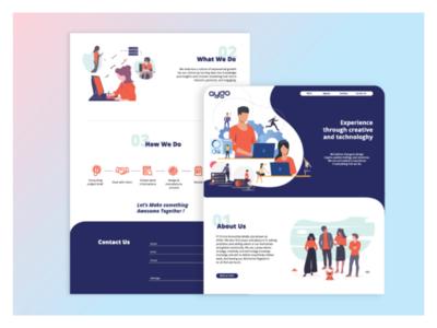 UI design_Aygo website