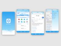 snow browser_ui design