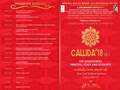 CALLIDA'18 Invitation