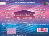 CALLIDA'18 Official Poster 1