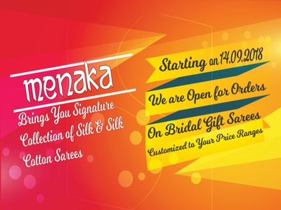 Menaka Shop Poster