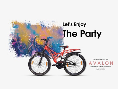 Poster Design for Cycle Race Party movie banner design banner design party poster design poster a day natok poster cinema poster poster art poster creative poster design movie poster poster design
