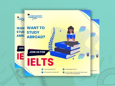 IELTS Education Post Design muntasir billah itsmuntasirb educational ad design facebook ad design banner ad design education instagram post design instagram banner design instagram post design ielts banner design ielts banner design ielts post design ielts post design facebook banner design facebook post design educational post design
