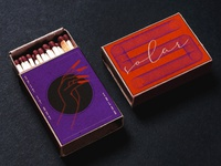 solar matchbox set vector logo linework matches matchbox lineart 2d graphic art minimalist design illustration