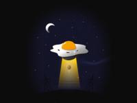 Egg-lien UFO