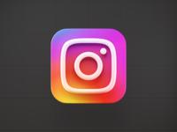 Instagram 3D icon concept vietnam render macos icon macos big sur ios instagram illustration icon design logo iconography icon gradient concept blender 3d blender bigsur app 3d