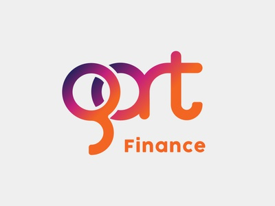 GART Finance badge logo badgedesign company badge badgelogo branding illustration icon design logo