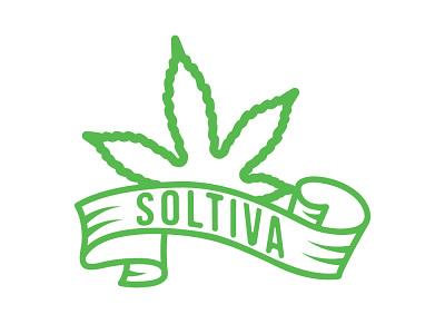 SOLtiva $STVA logo design badge design badge badgelogo branding illustration logo icon design
