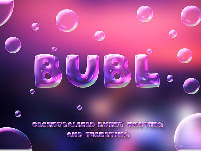 Bubl discord banner design banner design graphic design illustration logo design