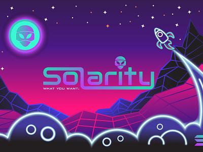 Solarity twittercover bannerdesign banners branding illustration icon logo design