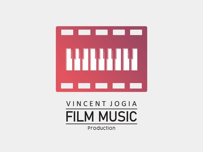VJ Film Music Production Logo