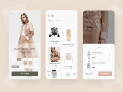 E commerce - UI Concept