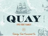 Quay Font Bundle