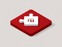 puzzle icon icon puzzle isometric