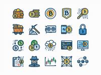 Bitcoin set